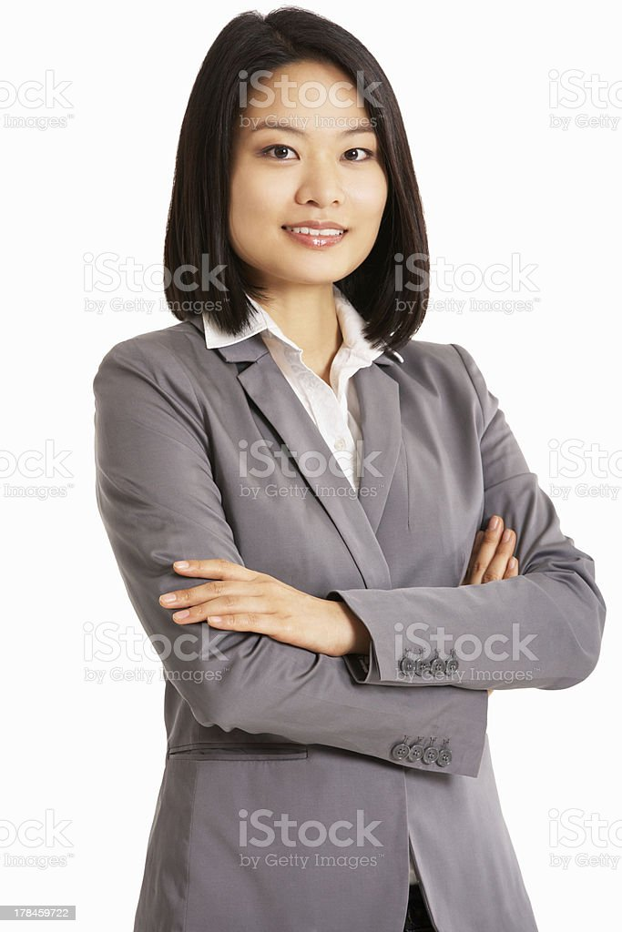 Asian businesswoman of