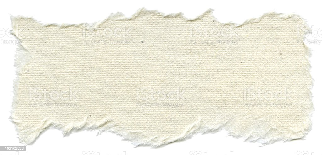 Isolated Rice Paper Texture - Cream White XXXXL royalty-free stock photo