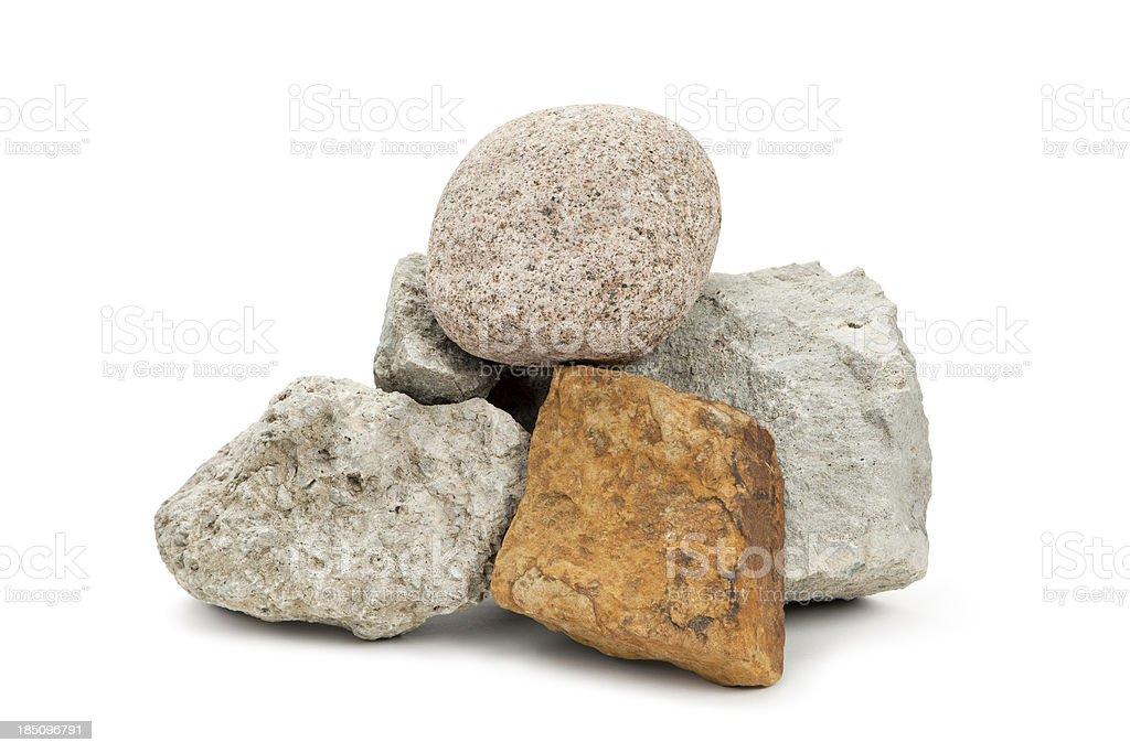 Isolated Rocks stock photo