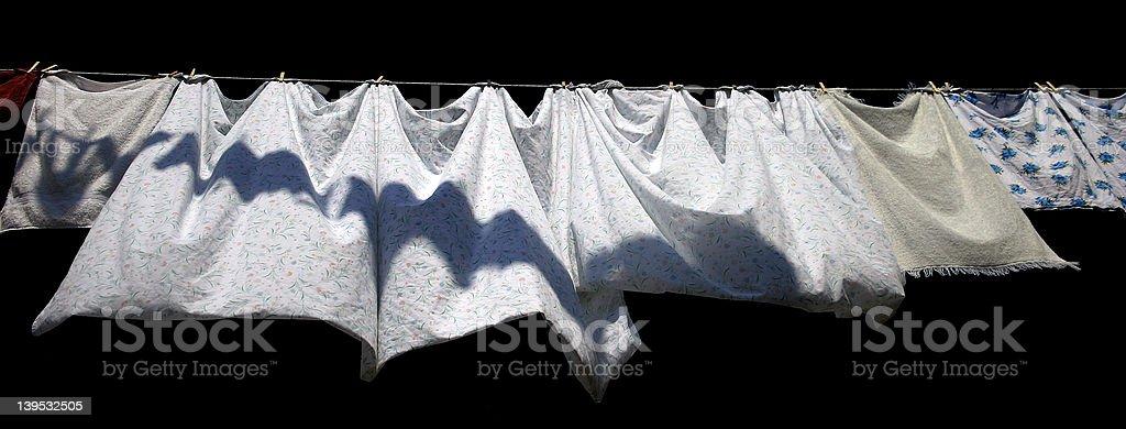 Isolated sheets royalty-free stock photo