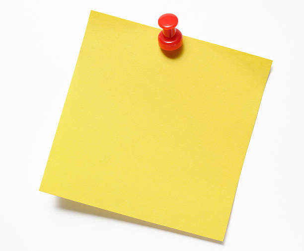 Yellow Sticky Note Pictures, Images and Stock Photos - iStock