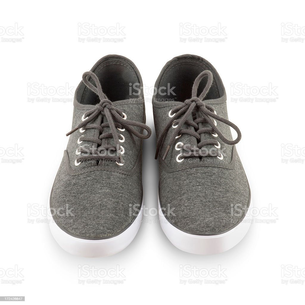 Isolated Spring Shoes stock photo