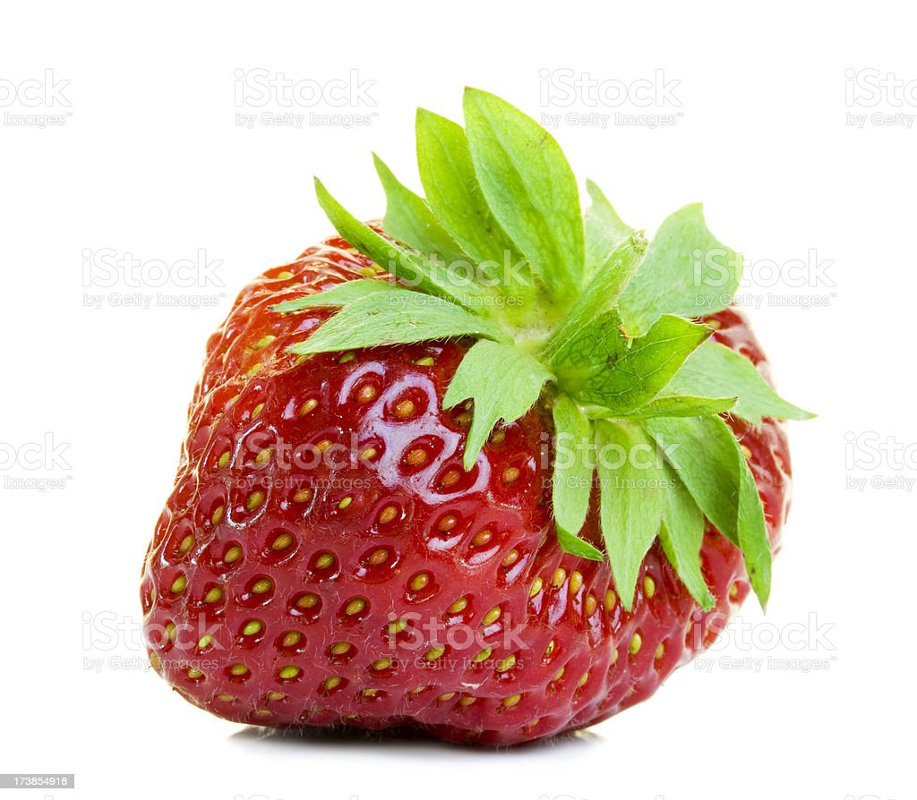 Isolated Strawberry royalty-free stock photo