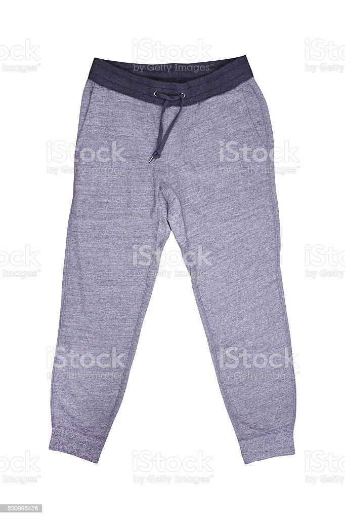 Isolated sweatpants stock photo
