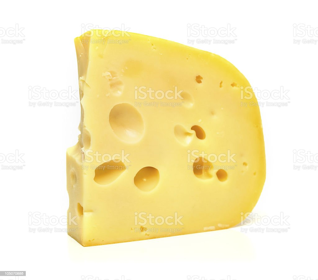 isolated tasty cheese stock photo