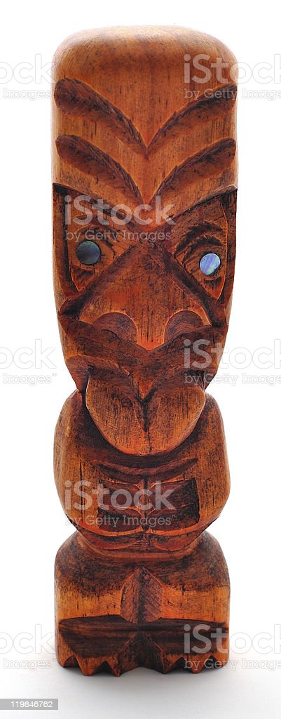 Isolated Tiki royalty-free stock photo