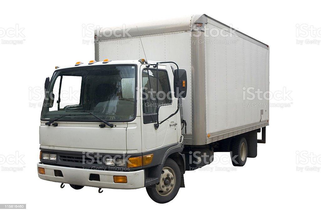 Isolated Truck stock photo