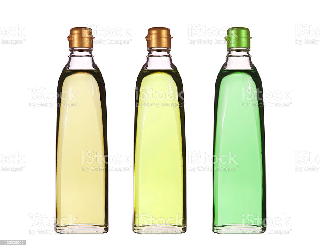 Isolated vegetable oil royalty-free stock photo