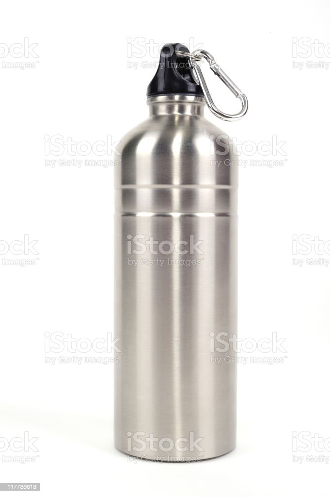 Isolated water bottle royalty-free stock photo