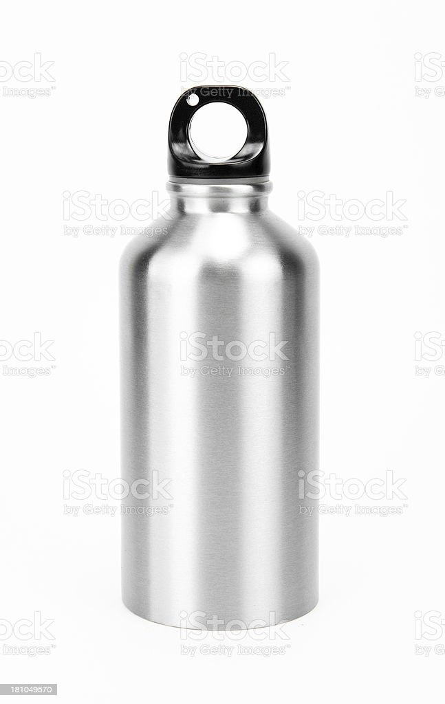 Isolated water bottle stock photo