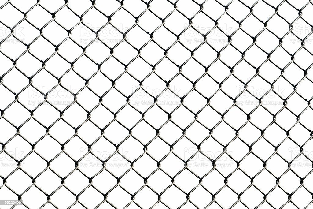 isolated wire netting royalty-free stock photo