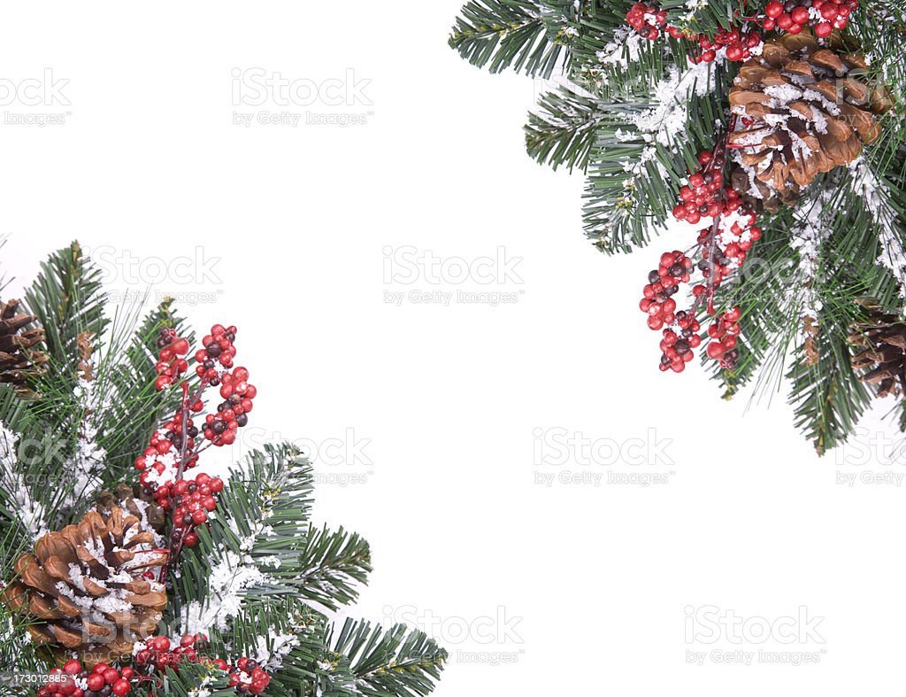 Isolated Wreath (XXL) royalty-free stock photo
