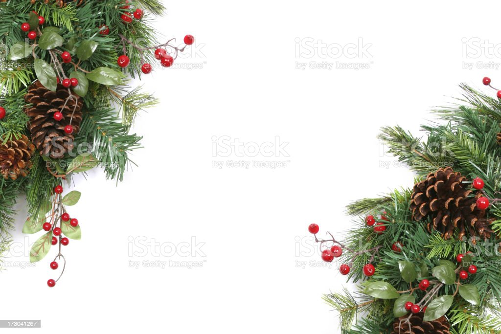 Isolated Wreath (XXL) stock photo