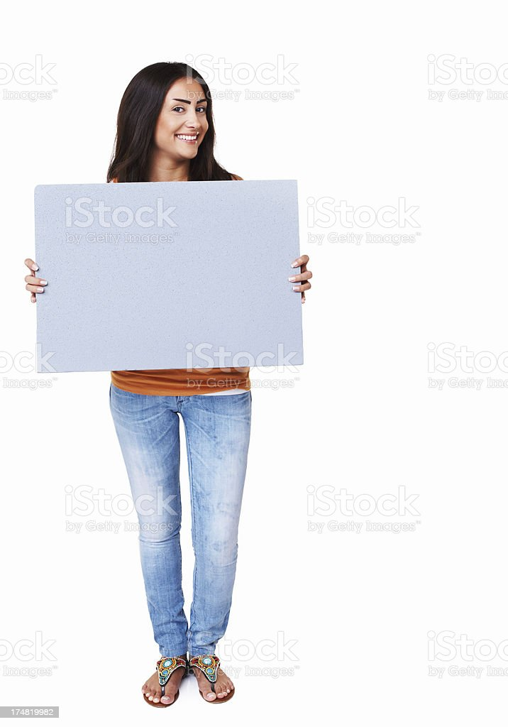 Isolating your brand here! royalty-free stock photo