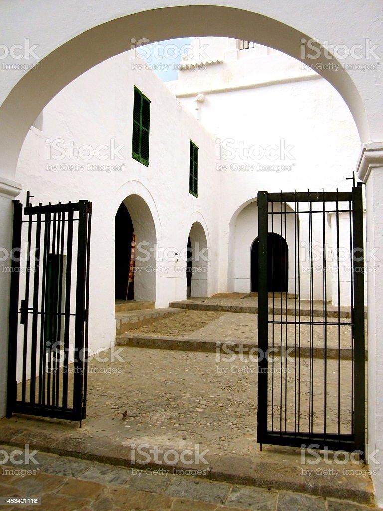 Isole Baleari. Ibiza stock photo