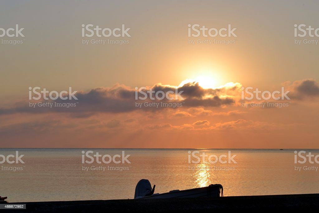 Isole Eolie, Lipari stock photo