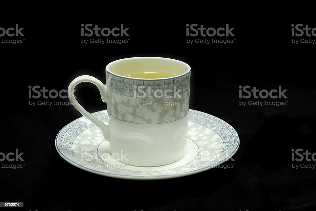 isolsted a cup of tea royalty-free stock photo