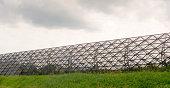 Isometric shaped Freeway Noise barrier