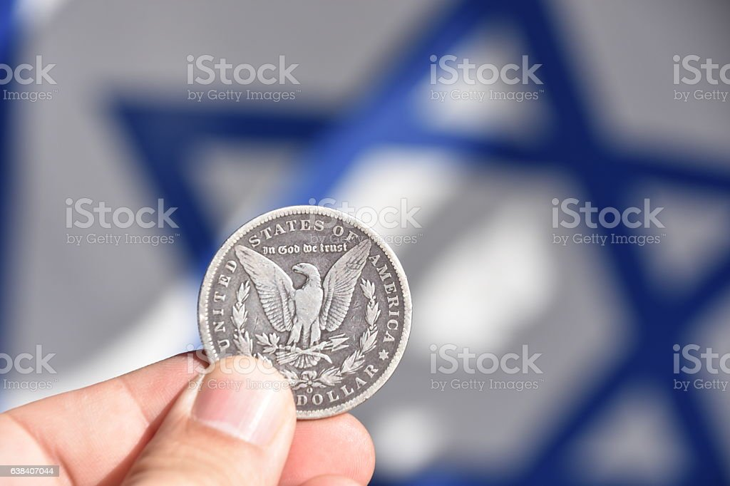 Israel and the United States stock photo