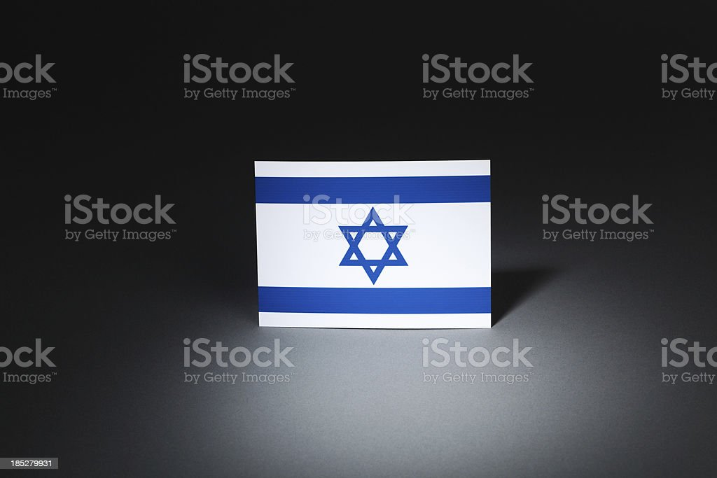 Israel at Center Stage Under Spotlight Hz royalty-free stock photo