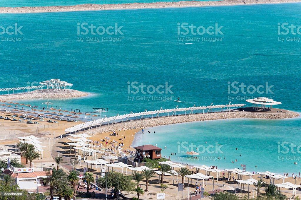 Israel. Dead sea. Beach. royalty-free stock photo