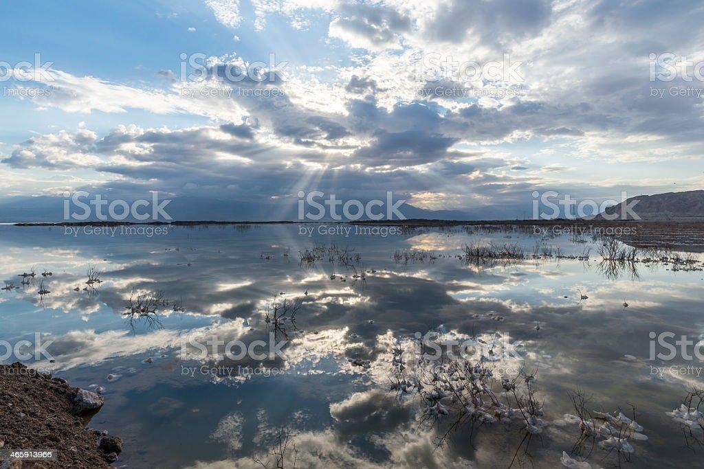 Israel. Dead sea. royalty-free stock photo