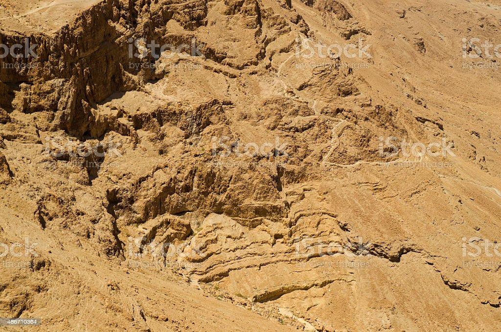 Israel desert stock photo