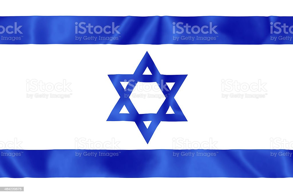 Israel Flag. royalty-free stock photo