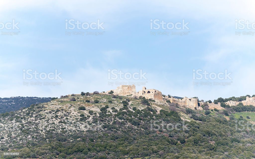 Israel. Galilee. Nimrod fortress. royalty-free stock photo