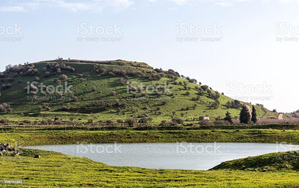 Israel. Galilee. royalty-free stock photo