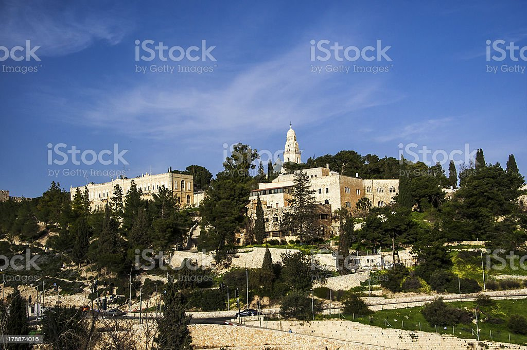 Israel, mount olives royalty-free stock photo