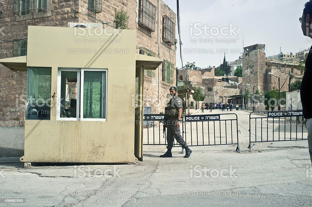 Israele Patrol royalty-free stock photo