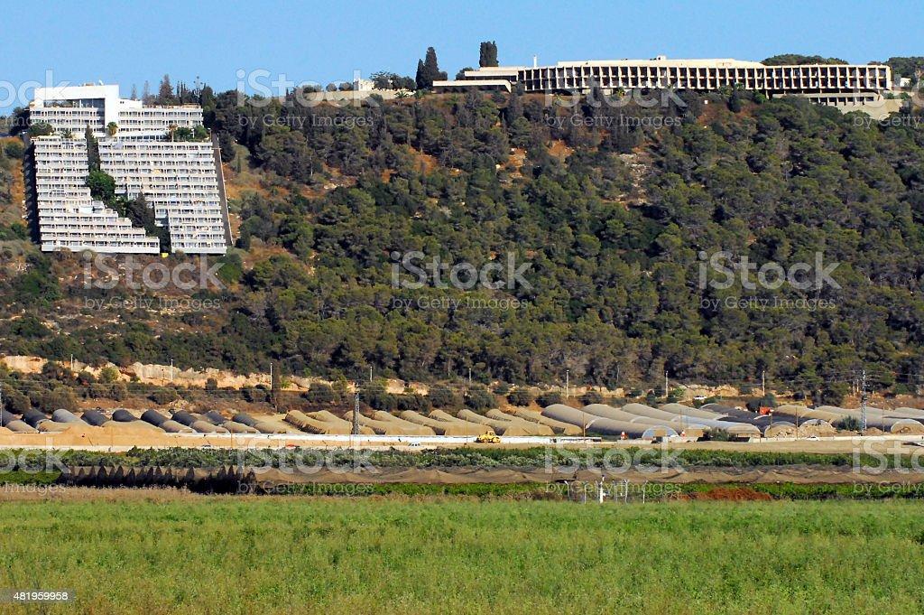 Israel Travel Photos - Zichron Yaakov stock photo