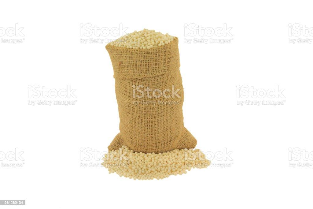 Israeli Couscous stock photo