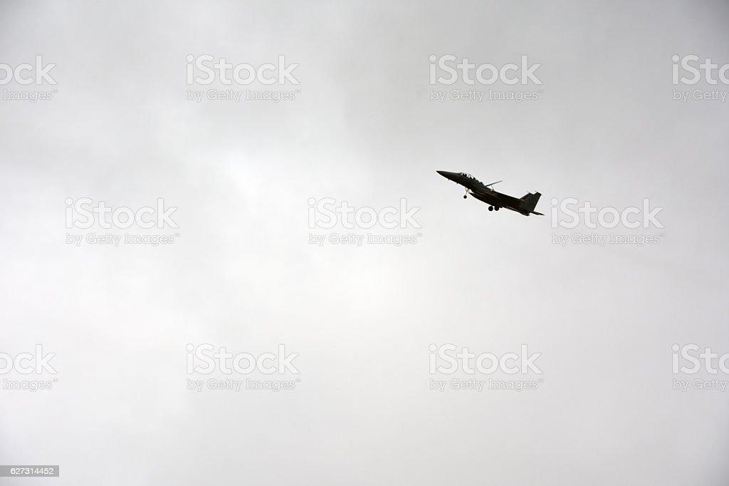 Israeli fighter jet stock photo