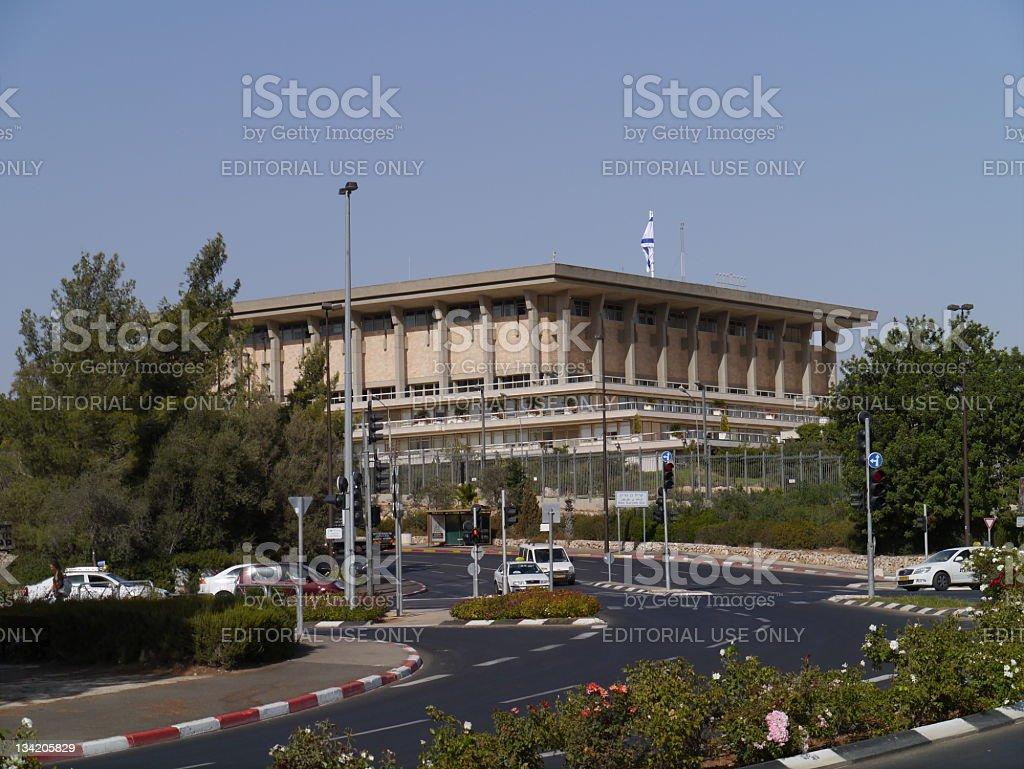 Israeli Knesset (Parliament) stock photo
