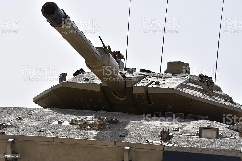 Israeli tank stock photo