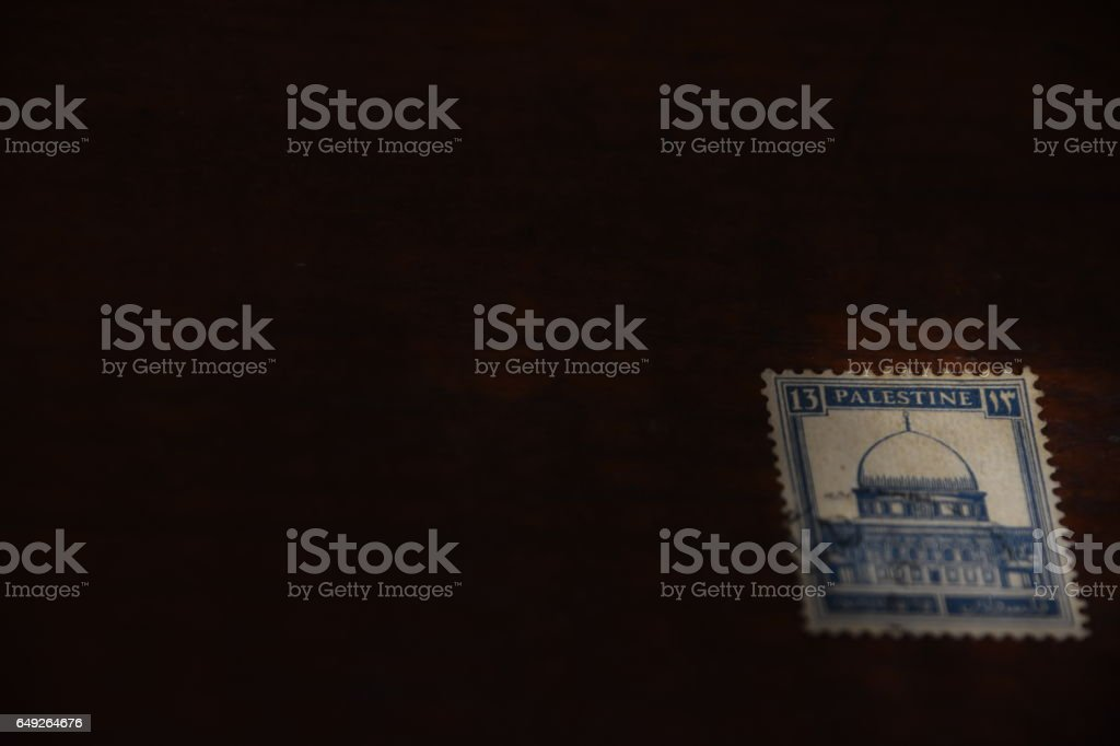 Israeli-Palestinian conflict Concept stock photo