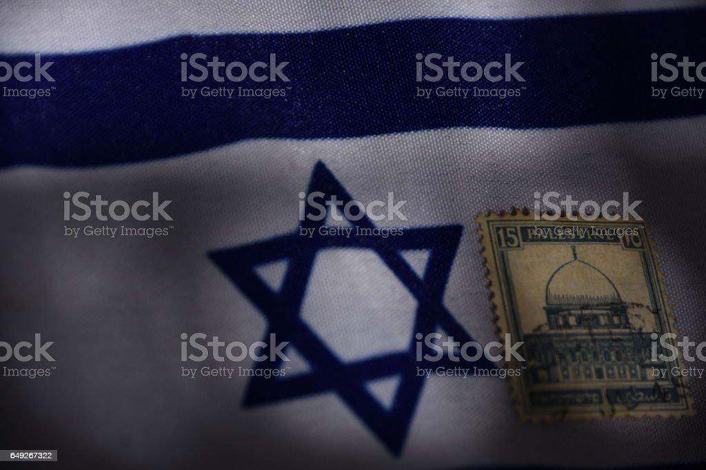 Israeli-Palestinian conflict Concept stock photo