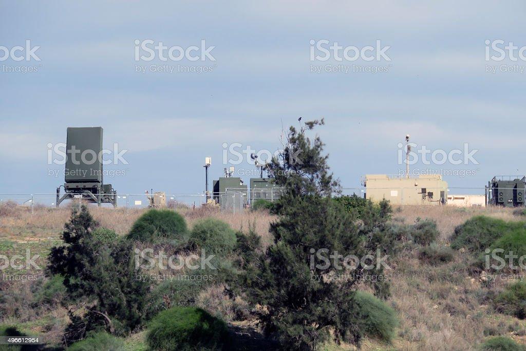 Israel's Iron Dome stock photo