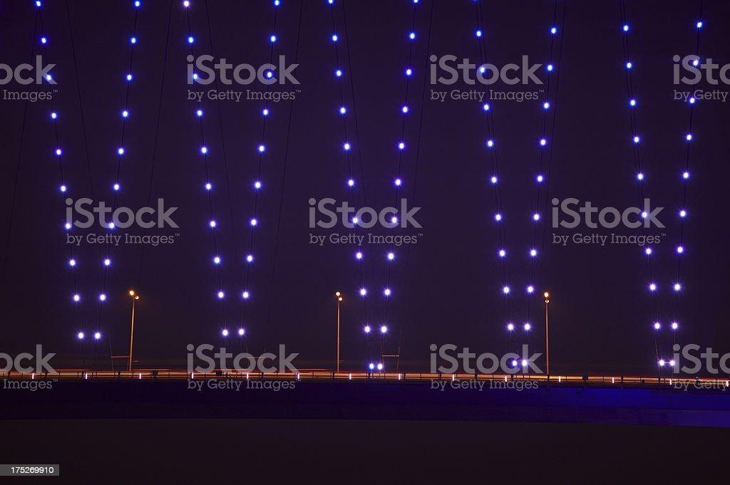 Istanbul at night royalty-free stock photo