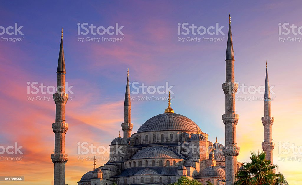 Istanbul - Blue mosque, Turkey stock photo
