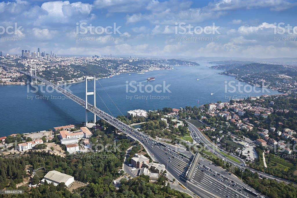 Istanbul Bosphorus Bridge stock photo