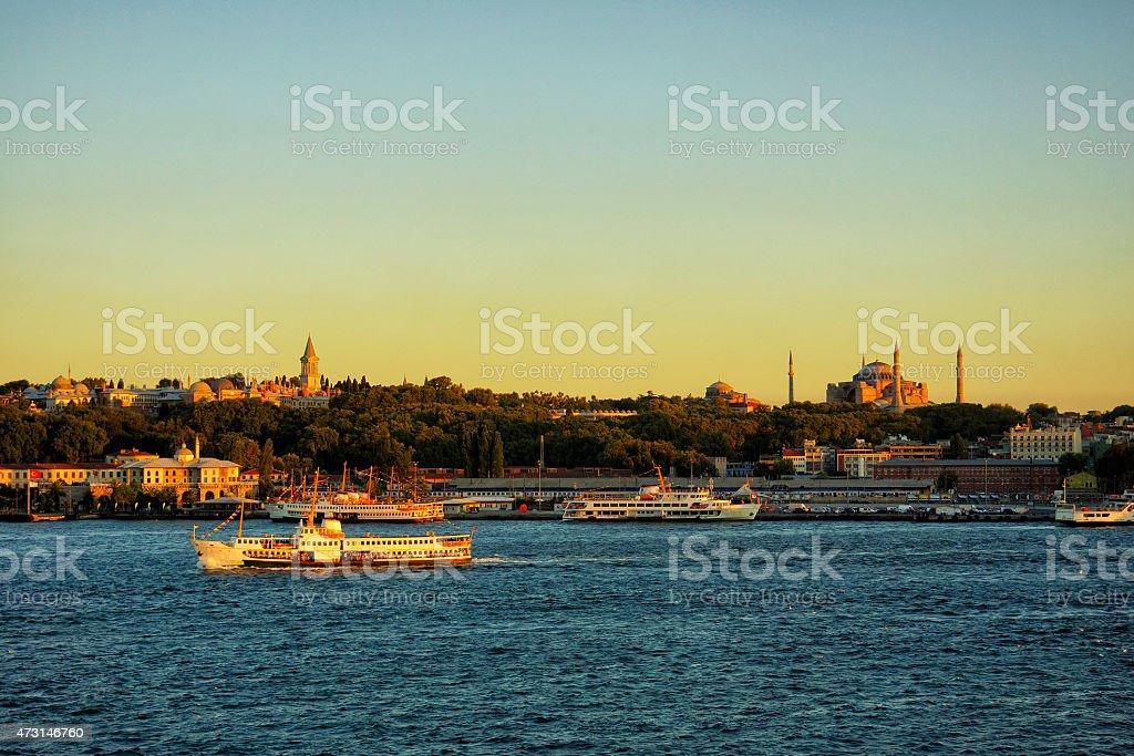 istanbul Bosphorus Стоковые фото Стоковая фотография