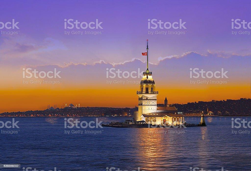 istanbul Bosphorus stock photo