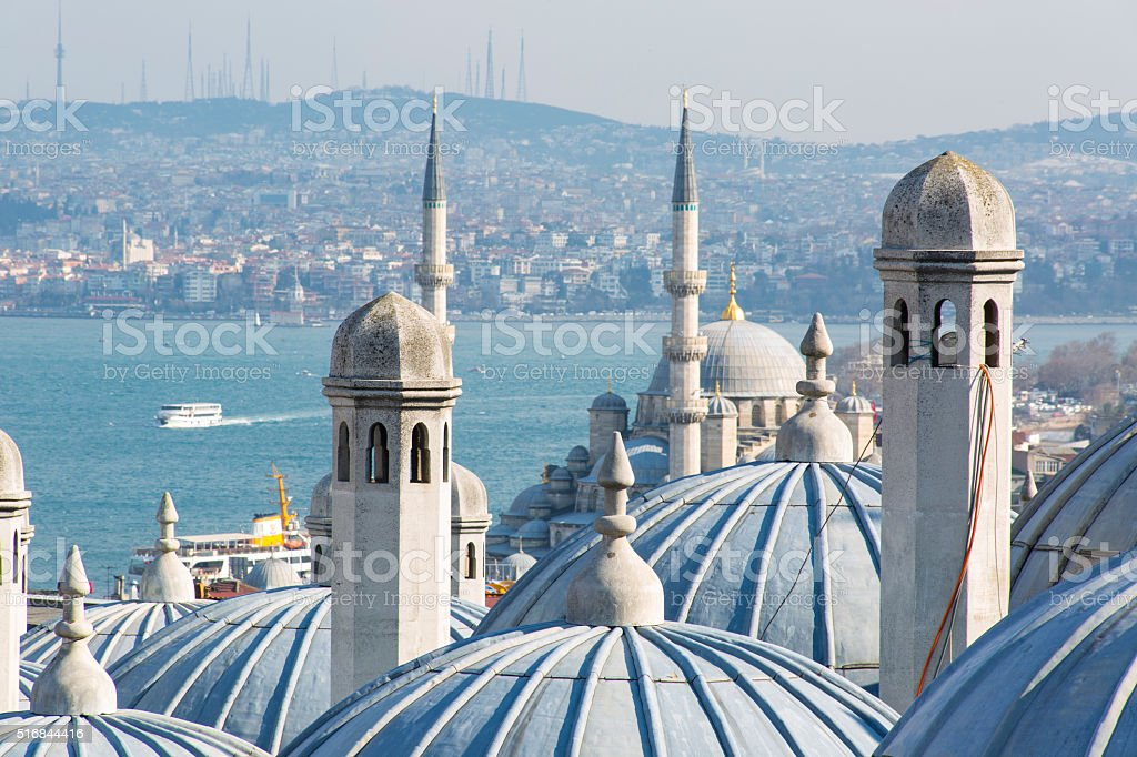 Istanbul, Bosphorus, Turkey stock photo