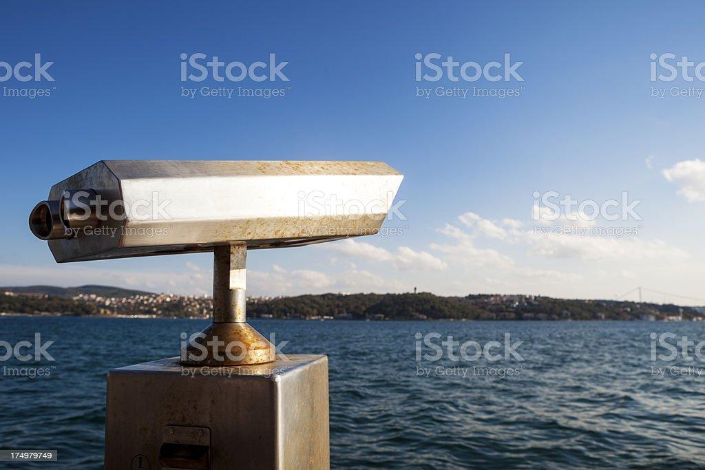 Istanbul bosphorus view. royalty-free stock photo