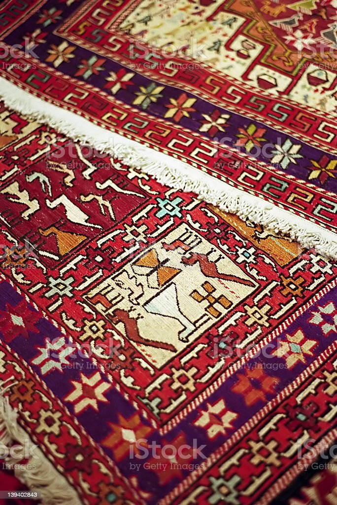 Istanbul Carpets royalty-free stock photo