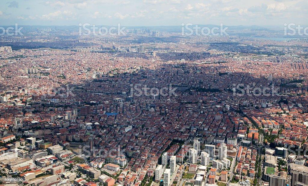 Istanbul City stock photo