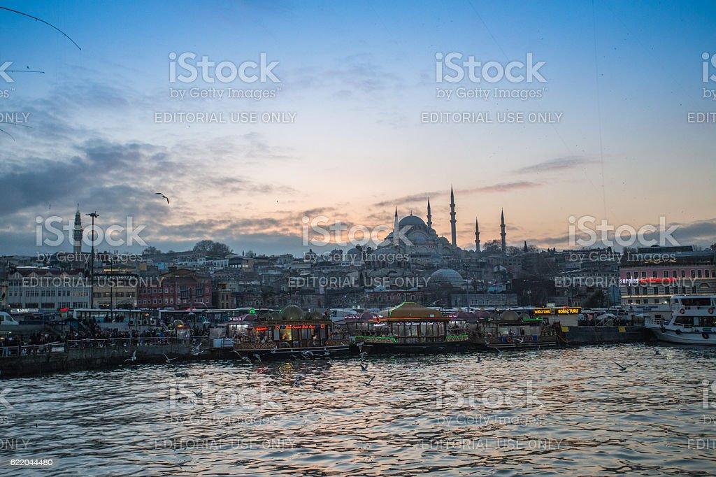 Istanbul cityscape stock photo